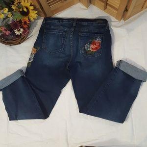 Kut from the Kloth Ladies Boyfriend Jeans, sz 10
